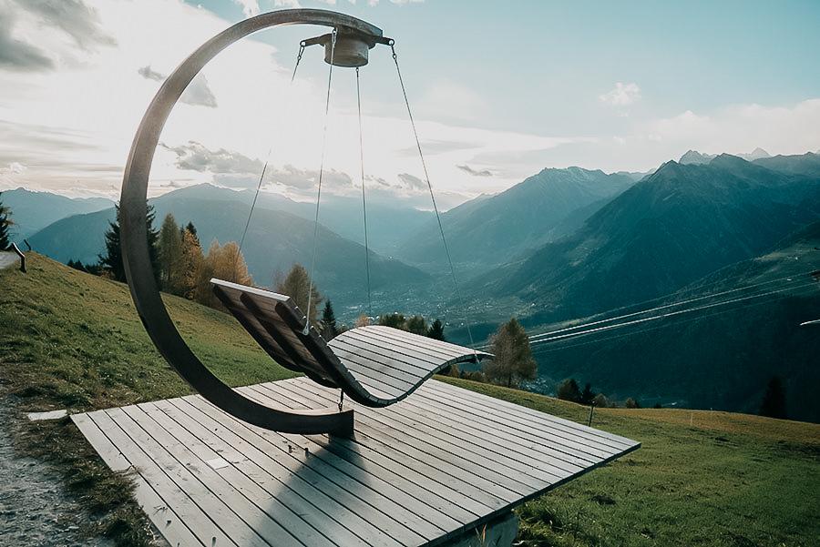 Schenna Wandern - A Tasty Hike - Wanderung Schenner Waalweg - Taser