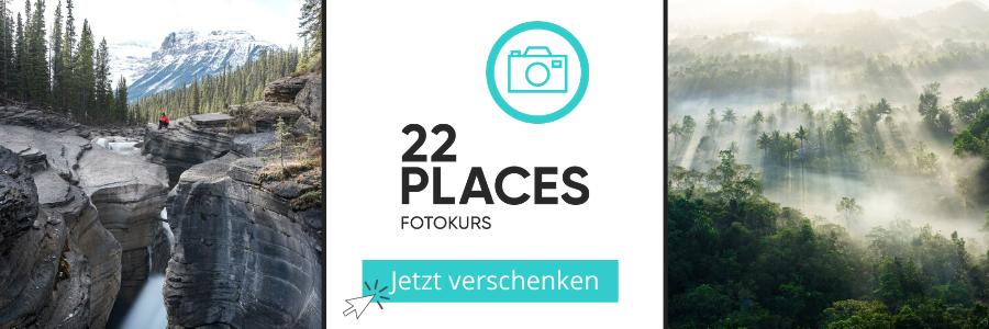 22Places Fotokurs - Fotografieren lernen – Geschenke fuer Wanderer