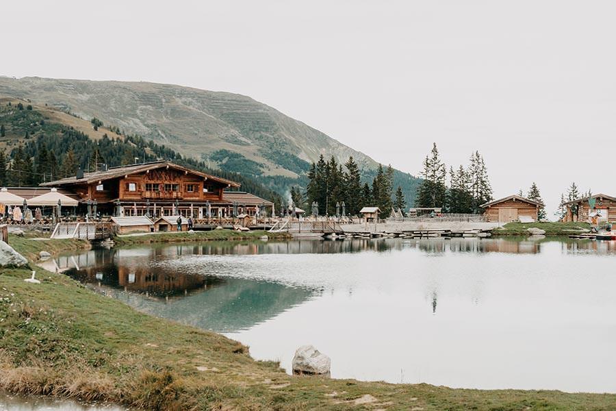 A Tasty Hike - Serfaus Wandern - Panorama Genussweg - Bergsee mit Seealm