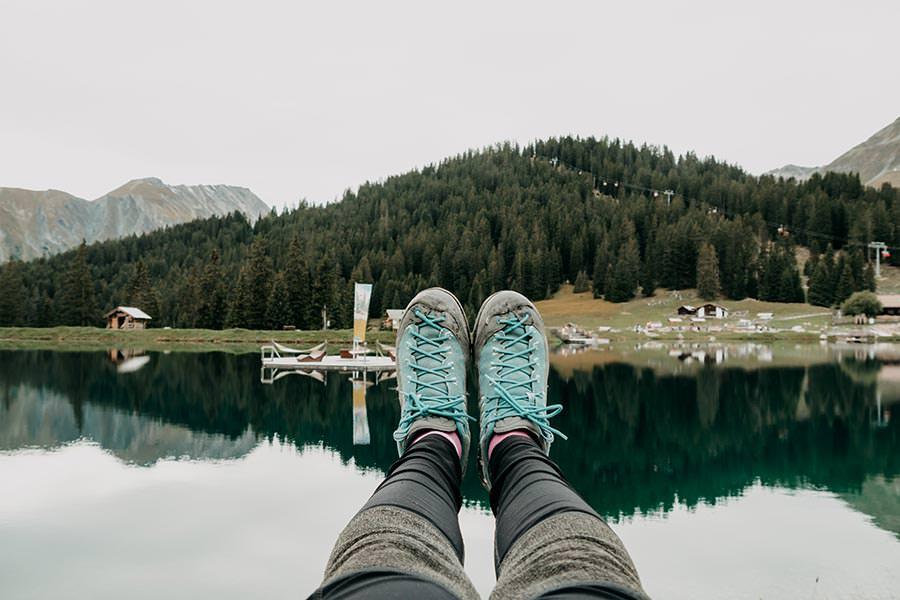 A Tasty Hike - Serfaus Wandern - Panorama Genussweg - Bergsee