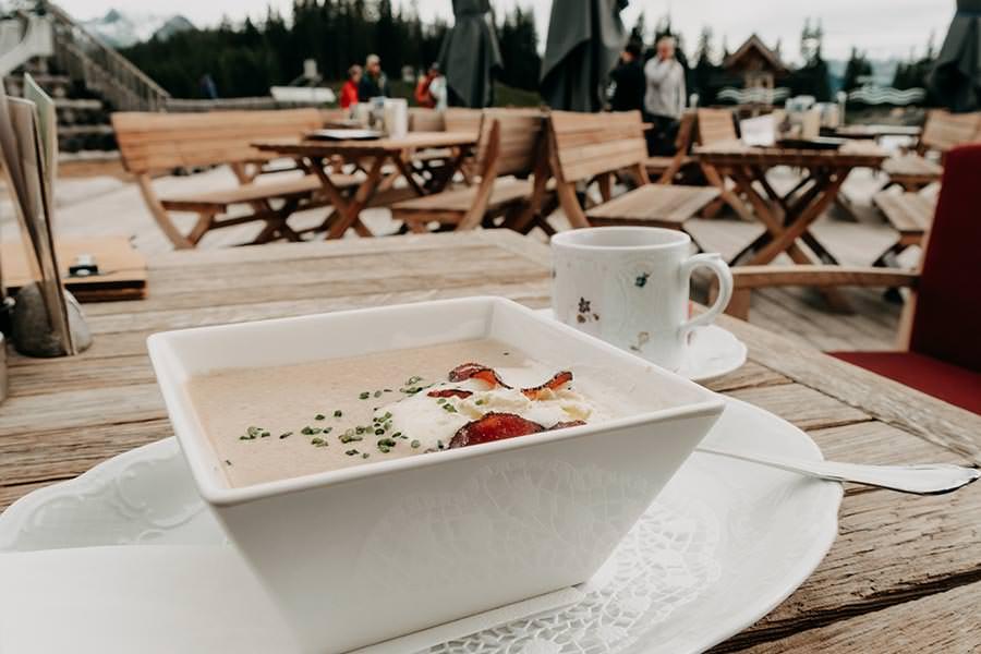 A Tasty Hike - Serfaus Wandern - Panorama Genussweg - Seealm Suppe