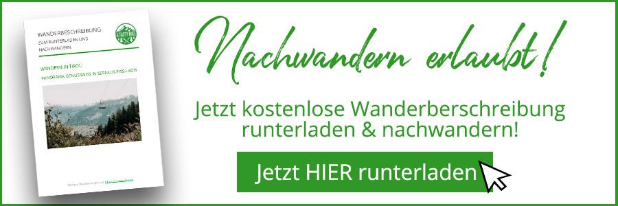 A Tasty Hike - Serfaus Wandern - Panorama Genussweg - Wanderbeschreibung Banner