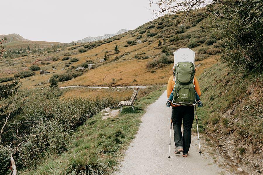 A Tasty Hike - Serfaus Wandern - Panorama Genussweg - Wanderweg Wiese
