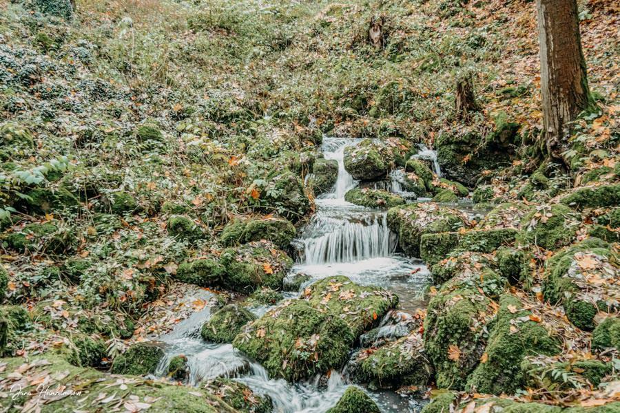 Tagesausfluege Hessen - Secret Places in Hessen - Lahntal - Leyenbach Wasserfall 2