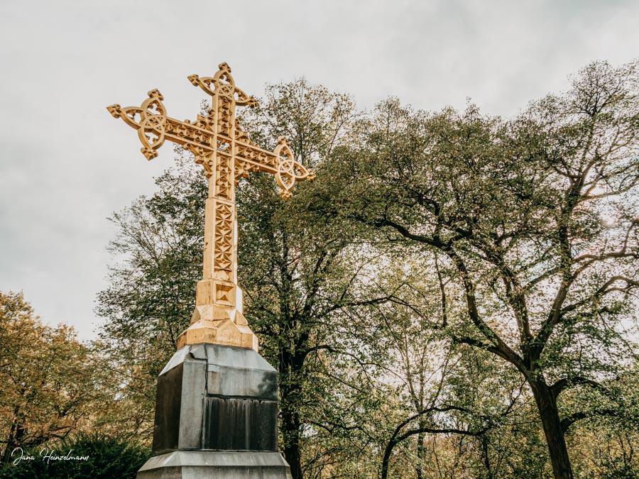 Tagesausfluege Hessen - Secret Places in Hessen - Odenwald - Schloss Heiligenberg - Goldenes Kreuz