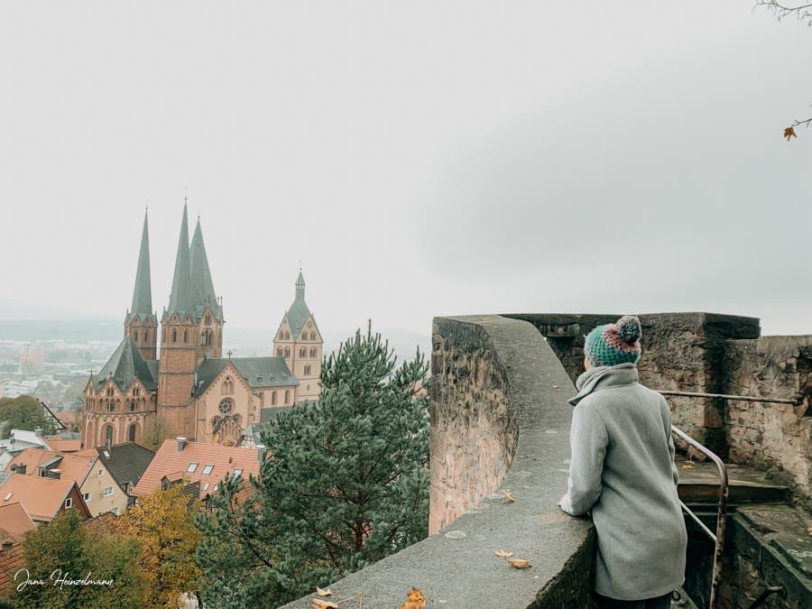 Tagesausfluege Hessen - Secret Places in Hessen - Spessart - Gelnhausen - Aussicht Halbmond