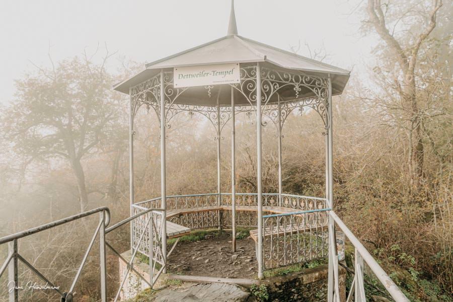 Tagesausfluege Hessen - Secret Places in Hessen - Taunus - Detweiler Tempel nah