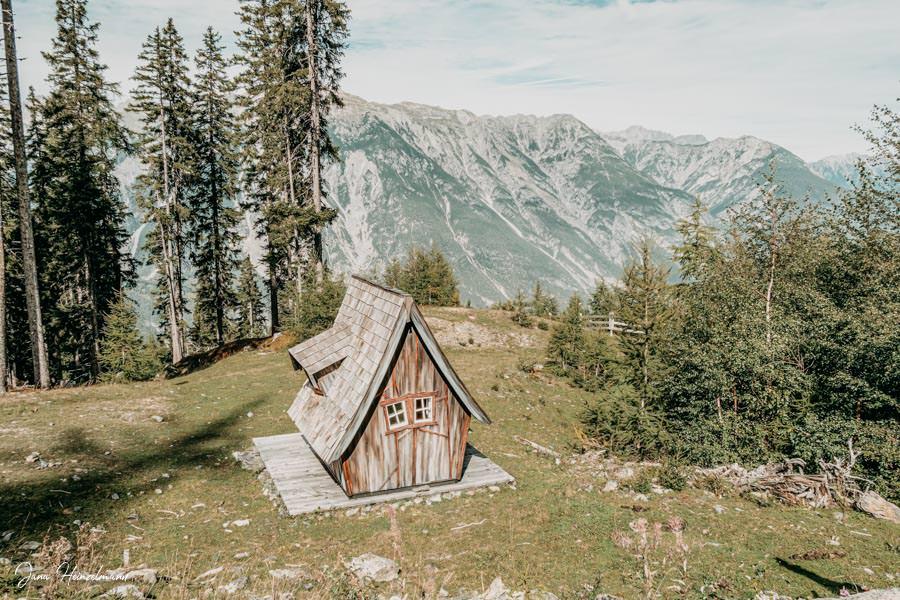 Zammer Alm Genusswanderung bei Zams in Tirol - Huette
