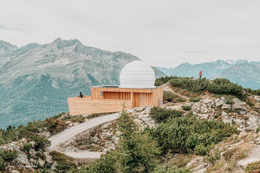 Zammer Alm Genusswanderung bei Zams in Tirol - Sternwarte Venet