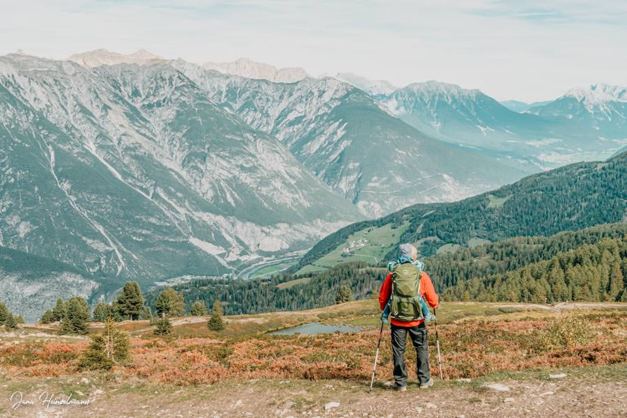 Zammer Alm Genusswanderung bei Zams in Tirol - Venet Christian