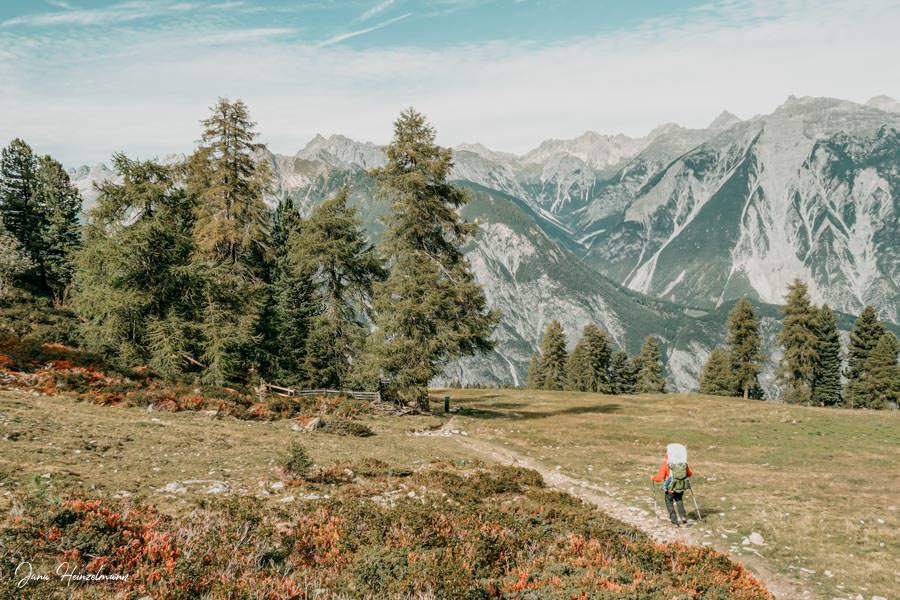Zammer Alm Genusswanderung bei Zams in Tirol - Wanderung Venet