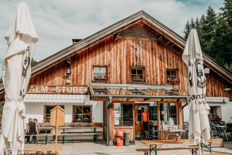 Zammer Alm Genusswanderung bei Zams in Tirol - Zammer Alm
