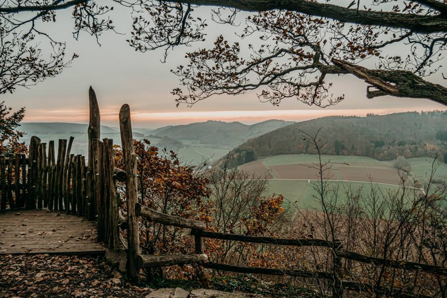 Edersee wandern - Rundwanderung im Nationalpark Kellerwald-Edersee auf dem Urwaldsteig - Hagenstein