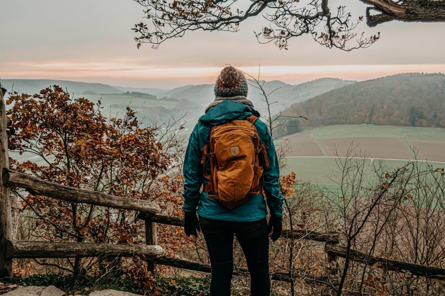 Am Edersee wandern: Wandern auf den Pfaden des Urwaldsteigs durch unberührte Buchenwälder