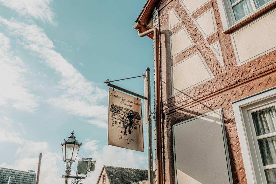 Spessart Steinau an der Strasse Brueder Grimm Haus