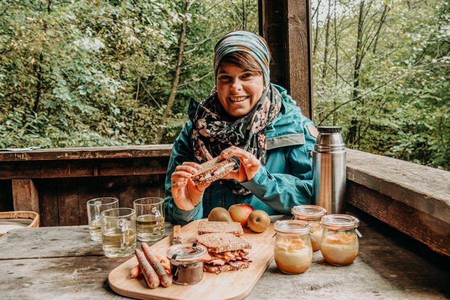 Spessart Wandern Spessartspur Wildromantische HIrschbornteiche - Jana Picknick