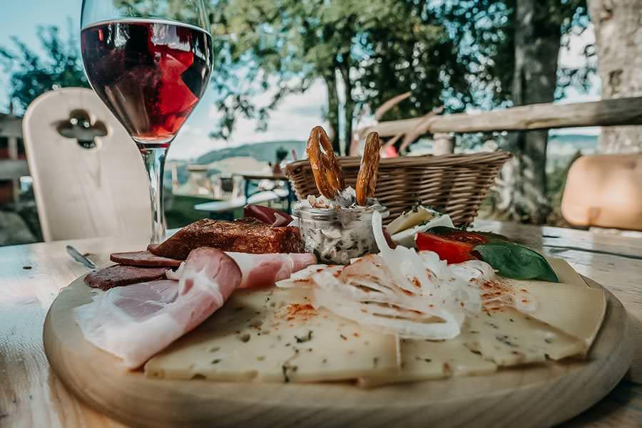 Alpsee wandern - 5 Genusswanderungen am Alpsee im Allgaeu - Pfarralpe Essen