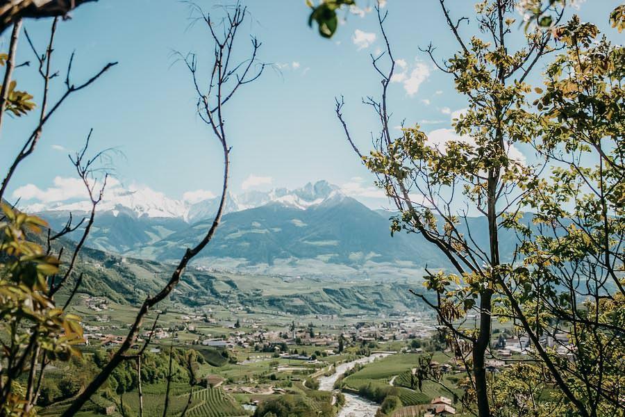 Fruehlingswanderungen - Wandern im Fruehling - Fruehlingswandern - Suedtirol