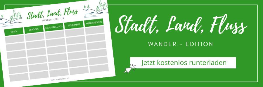 Stadt Land Fluss Wander-Edition Banner