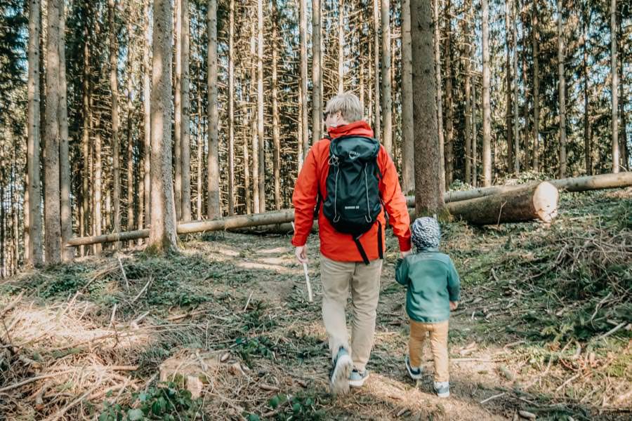 Wir bleiben zu Hause - Tipps fuer Wanderer – Spazieren gehen