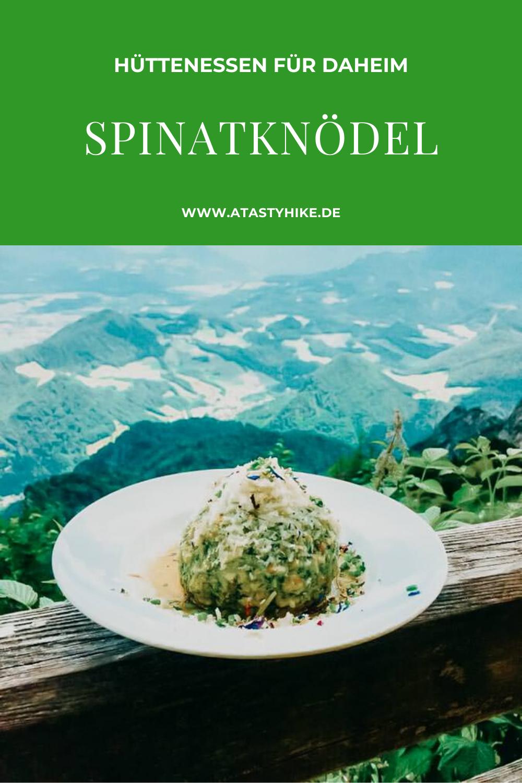 Leckeres Spinatknödel Rezept von Fernsehkoch Stefan Opgen-Rhein zum Selbermachen für zu Hause. Hol dir den Geschmack der Berge in die eigene Küche! #ATastyHike #Hüttenessen #Spinatknödel #Rezept #Rezeptidee #Knödelrezept #Alpenküche