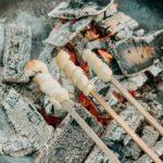 Stockbrot Rezept - Stockbrotteig selber machen - Stockbrote ueber dem Feuer