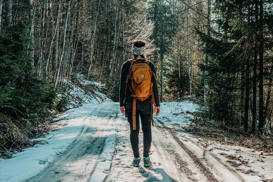 Adelegg Wanderung Kreuzthal – Ulmertal – Jana im Schnee