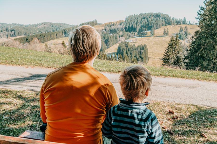 Adelegg Wanderung Kreuzthal – Ulmertal – Pause
