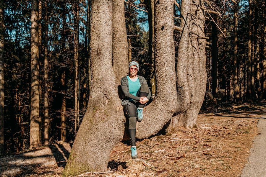 Adelegg Wanderung Kreuzthal – Ulmertal – Riesenbaum Jana