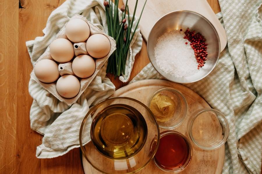 Bozner Sauce Rezept – Spargel auf Suedtiroler Art - Zutaten