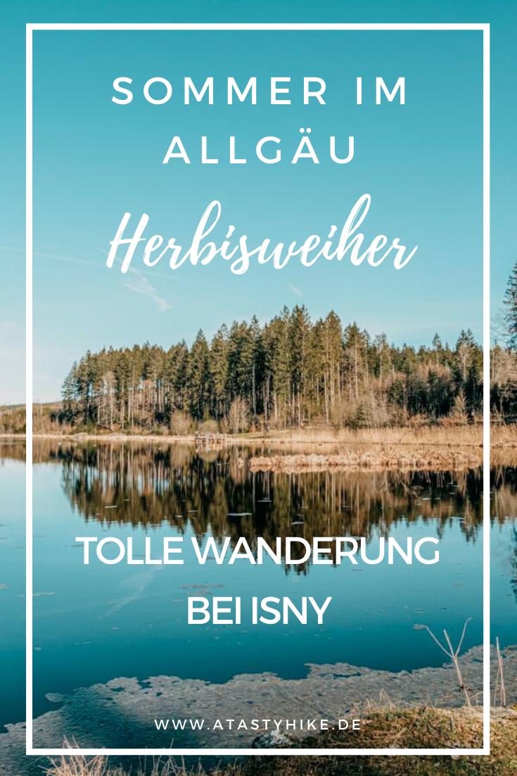 Isny Wandern – Gemütliche Tour zum Herbisweiher bei Isny im Allgäu