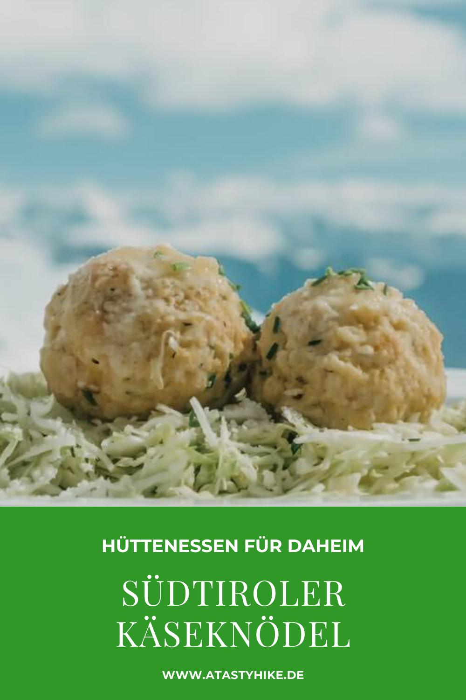 Südtiroler Käseknödel in luftiger Höhe – Original Rezept von der Kuhleitenhütte am Meran 2000