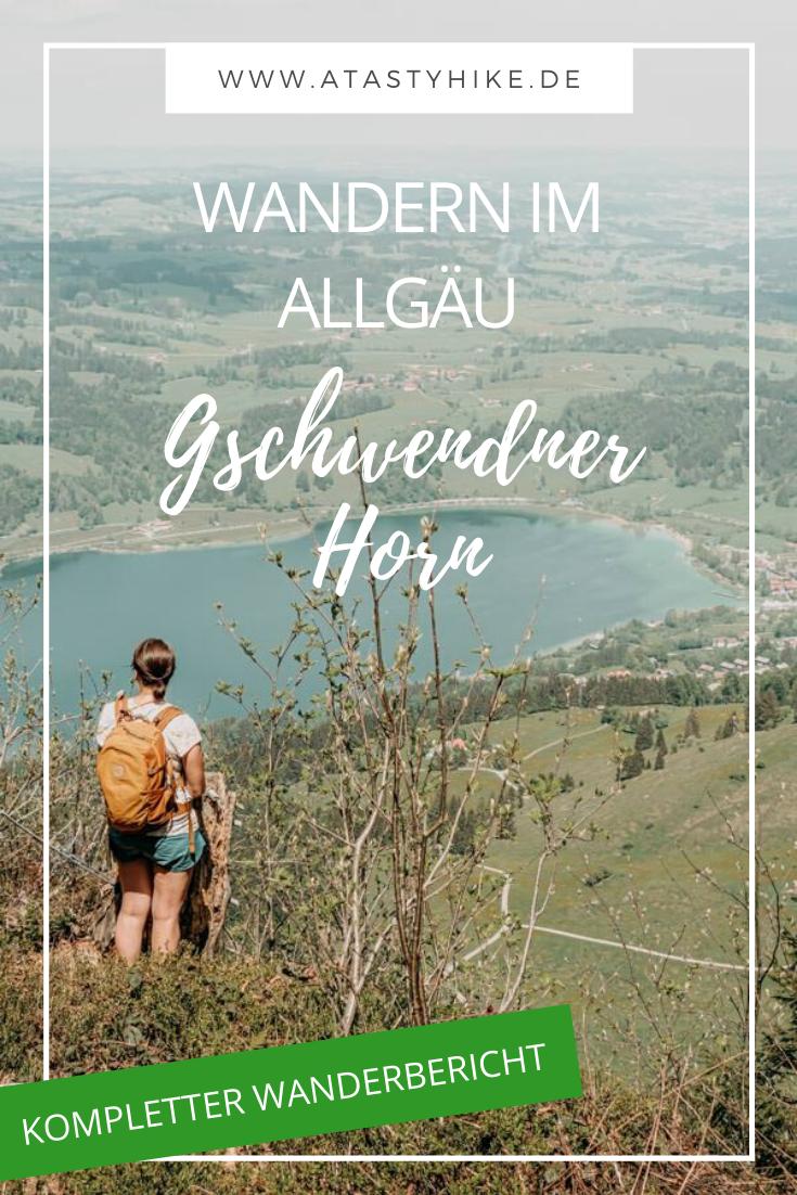 Immenstadt Wandern: Aussichtsreiche Wanderung rauf zum Gschwendner Horn mit tollen Einkehrmöglichkeiten