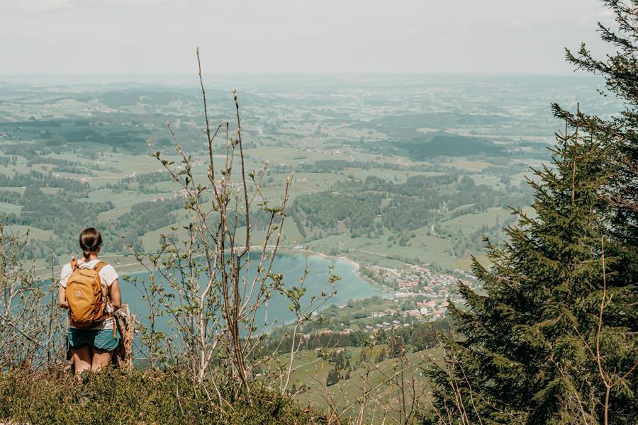 Immenstadt Wandern – Gschwendner Horn – Aussicht vom Gipfel
