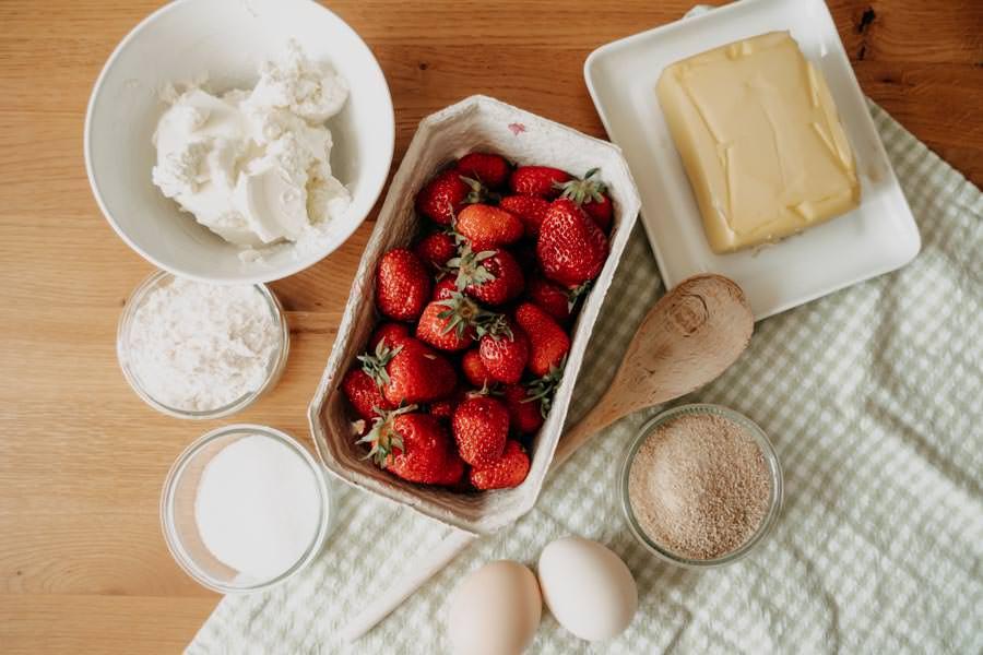 Suedtiroler Erdbeerknoedel Rezept – Zutaten