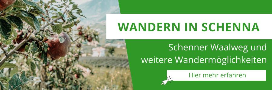 Schenna Wandern – Genusswandern mit Aussicht für Wanderanfänger auf dem Schenner Waalweg