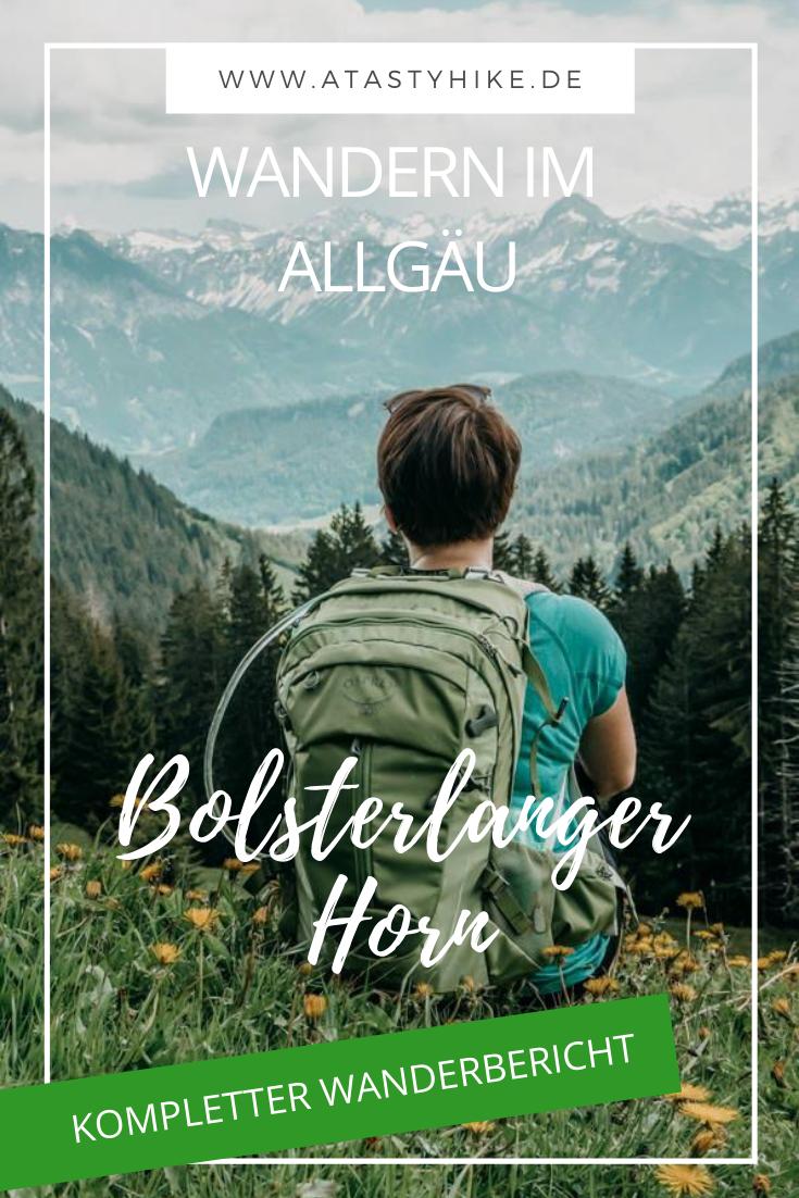 Fast in ein Gewitter gekommen bei unserer Wanderung zum Bolsterlanger Horn im Allgäu