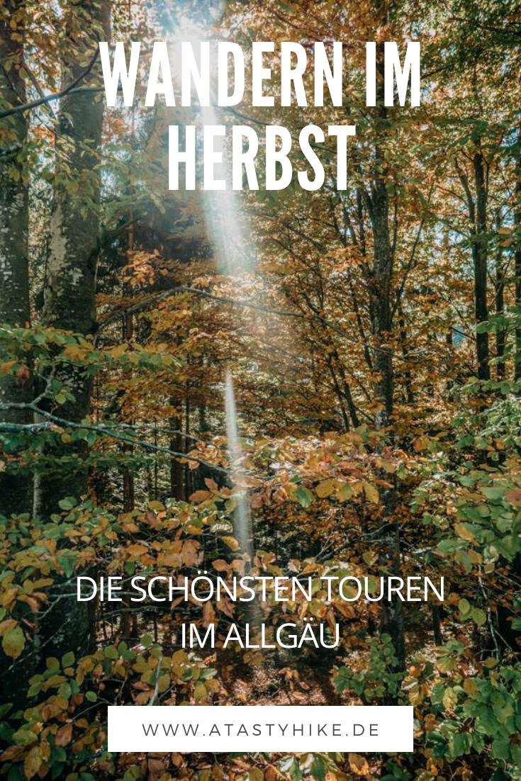 Wandern im Herbst im Allgäu – Die 6 schönsten Touren