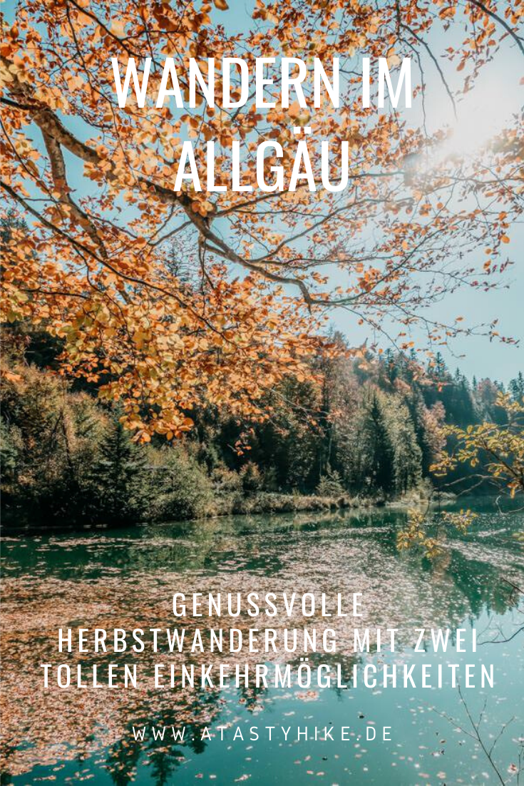 Genusswanderung in 2 Gängen: Sennalpen Derb & Oberberg bei Blaichach im Allgäu –Perfekt für den Herbst
