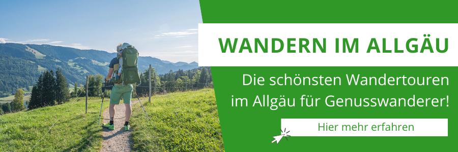 Wandern im Allgäu – Alle A Tasty Hike Wanderrouten in der Übersicht