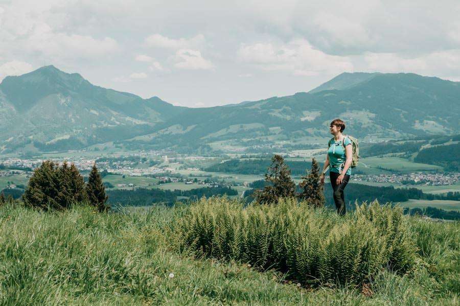 Wanderung Bolsterlanger Horn Allgaeu – Jana geniesst