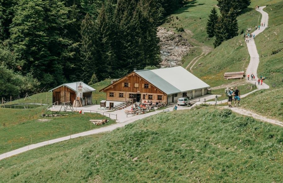 Wanderung Bolsterlanger Horn Allgaeu – Zunkleiten Alpe