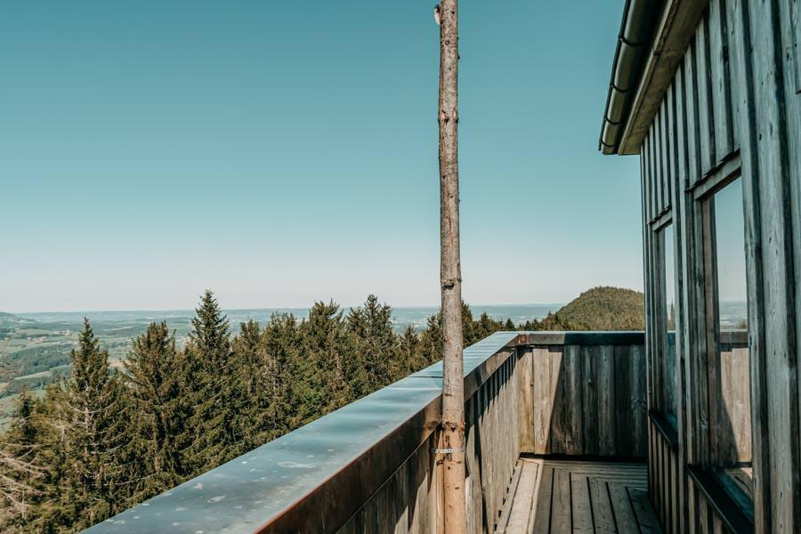 Wanderung Hauchenberg mit Alpkoenigblick im Allgaeu – Aussichtsturm