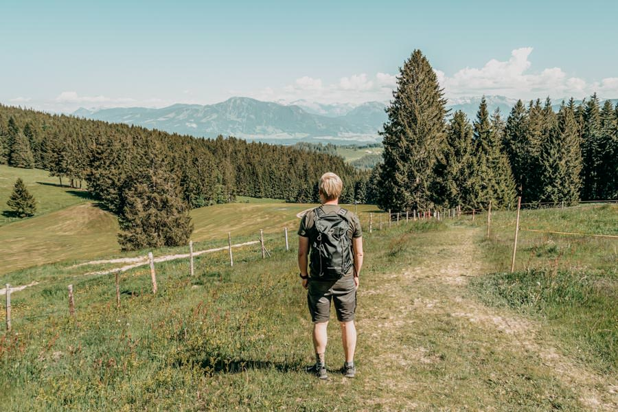 Wanderung Hauchenberg mit Alpkoenigblick im Allgaeu – Christian Rueckweg