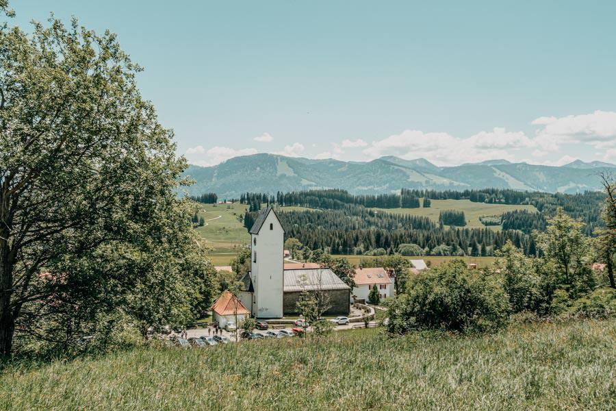 Wanderung Hauchenberg mit Alpkoenigblick im Allgaeu – Diepolz