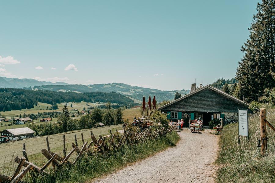 Wanderung Hauchenberg mit Alpkoenigblick im Allgaeu – Hoefle Alpe