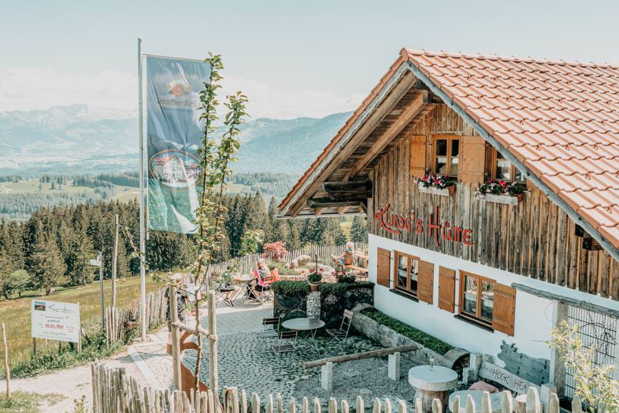 Wanderung Hauchenberg mit Alpkoenigblick im Allgaeu – Klings Huette