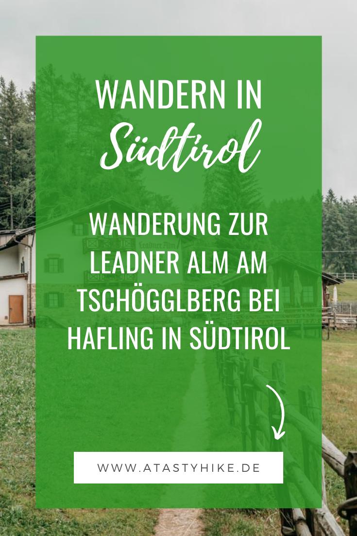 Wanderung zur Leadner Alm am Tschögglberg bei Hafling in Südtirol