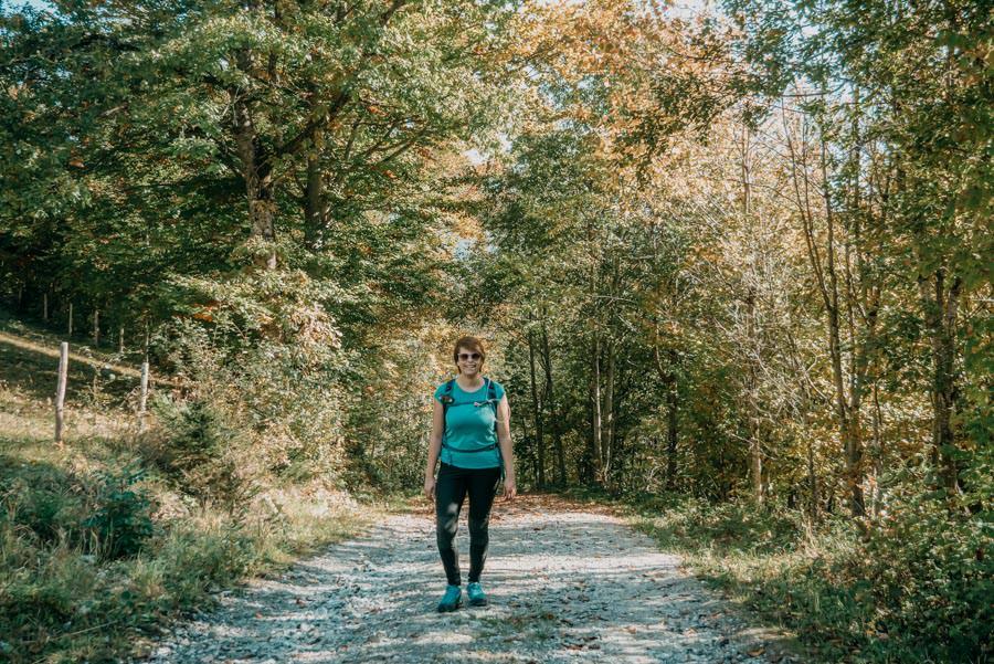 Wanderung Sennalpe Derb bei und Oberberg im Allgaeu – Jana