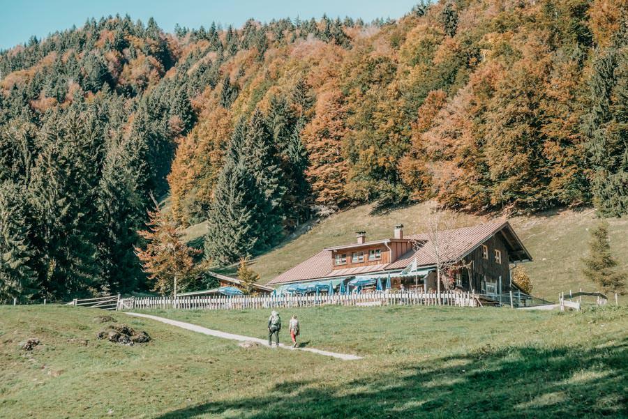 Wanderung Sennalpe Derb bei und Oberberg im Allgaeu – Sennalpe Derb